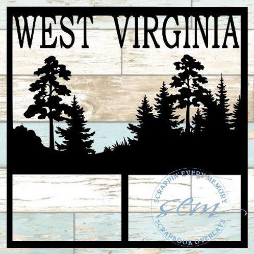 West Virginia Scrapbook Overlay
