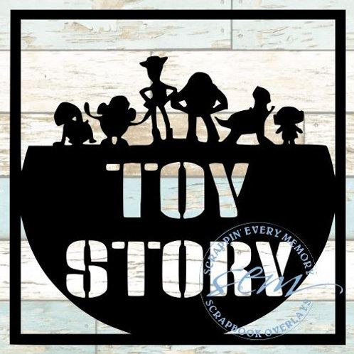 Toy Story Scrapbook Overlay