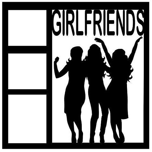 Girlfriends Scrapbook Overlay