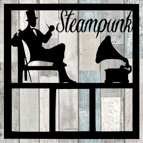 Steampunk Scrapbook Overlay