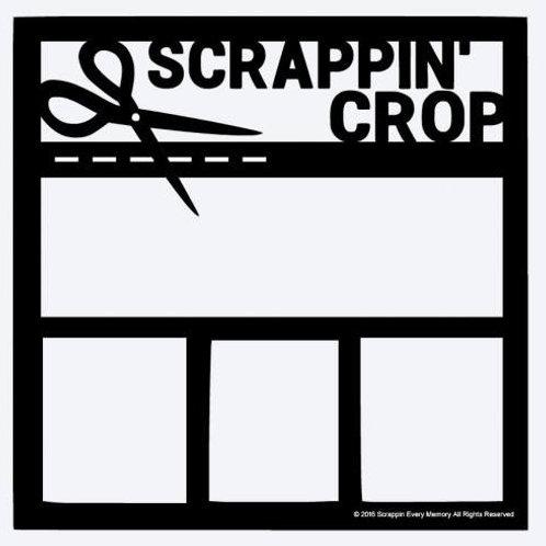Scrappin Crop Scrapbook Overlay