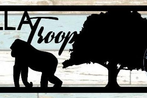Gorilla Troop Scrapbook Title