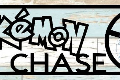 Pokemon Chase Scrapbook Title