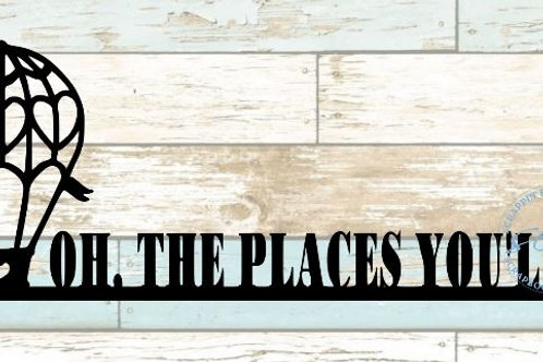 Oh The Places You'll Go Scrapbook Border