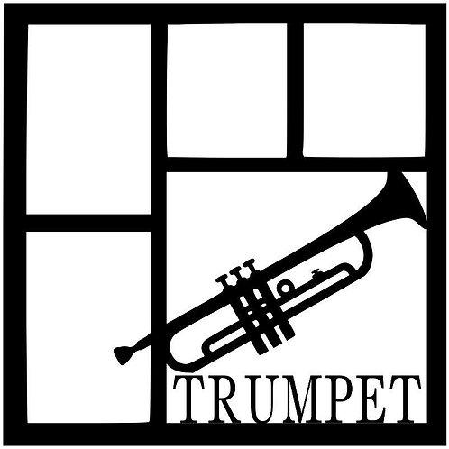 Trumpet Scrapbook Overlay
