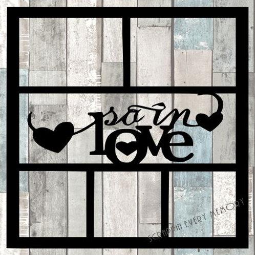 So In Love Scrapbook Overlay
