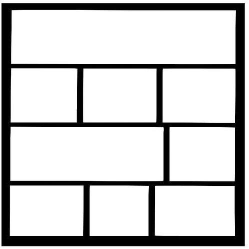 Frame 316 Scrapbook Overlay