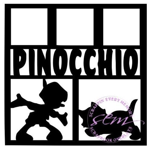 Pinocchio Scrapbook Overlay