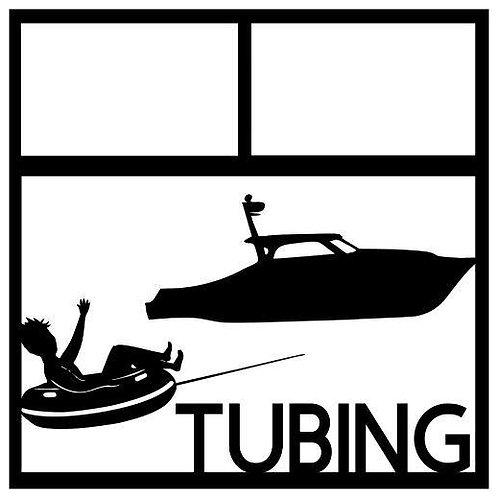 Tubing Scrapbook Overlay