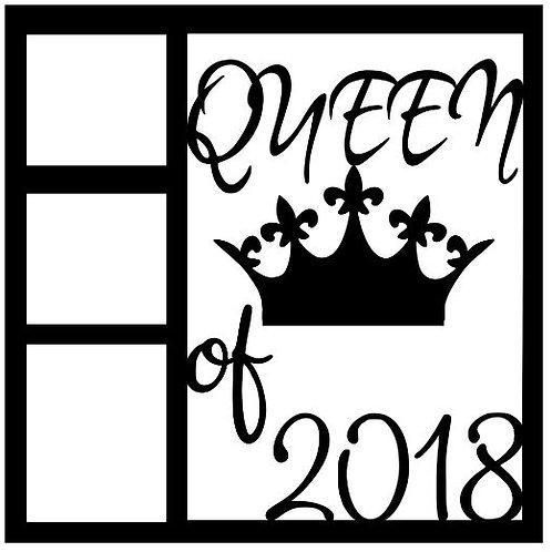 Queen Of 2018 Scrapbook Overlay