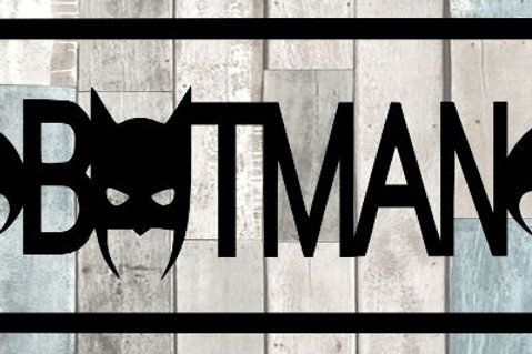 Batman Scrapbook Title