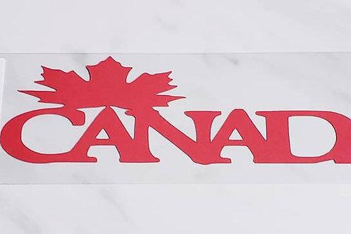 Canada Scrapbook Deluxe Die Cut