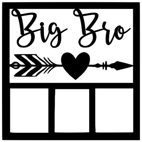 Big Bro Scrapbook Overlay