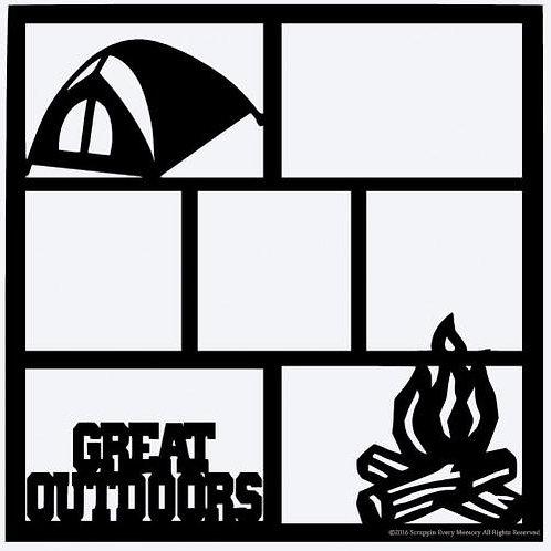 Great Outdoors Scrapbook Overlay