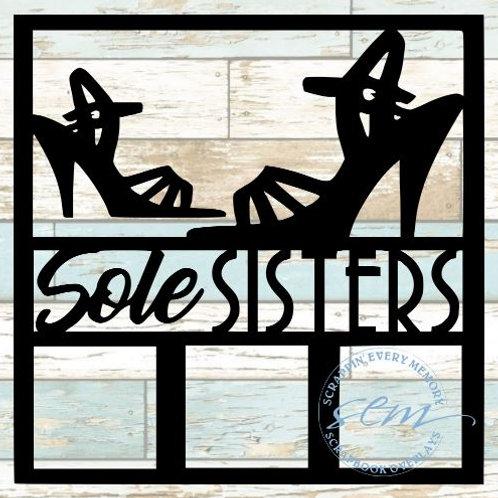 Sole Sisters Scrapbook Overlay
