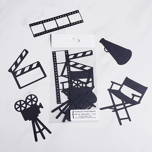 Movie Die Cut Silhouette Mini Set