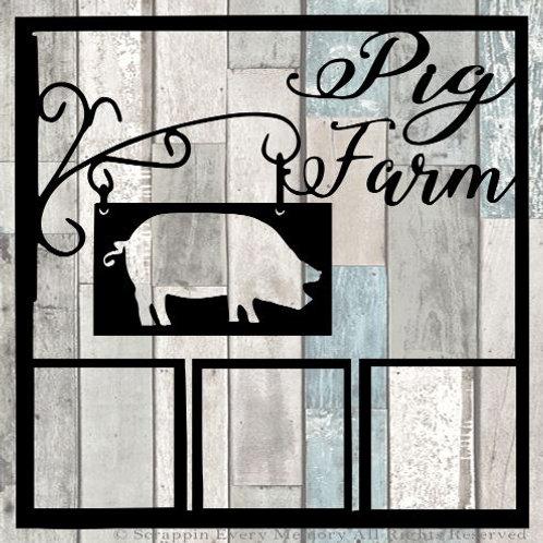 Pig Farm Scrapbook Overlay