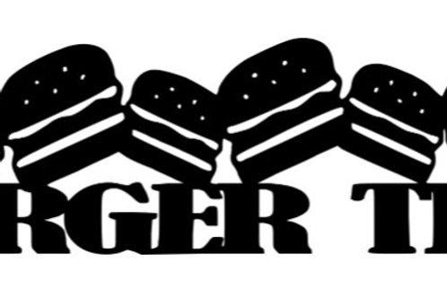 Burger Time Scrapbook Border
