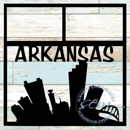Arkansas Scrapbook Overlay