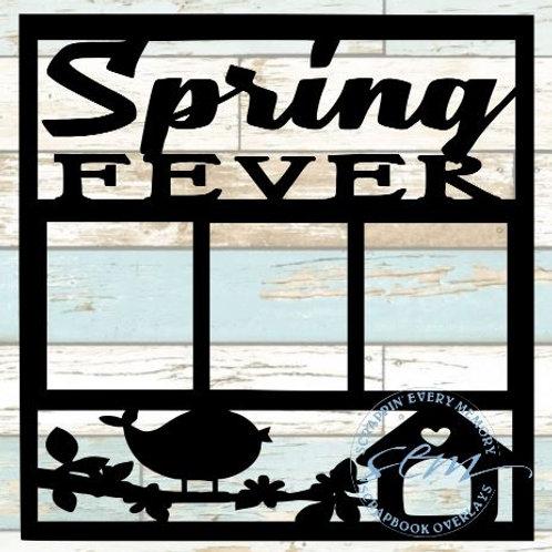 Spring Fever Scrapbook Overlay