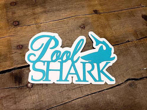 Pool Shark Paper Piecing Die Cut