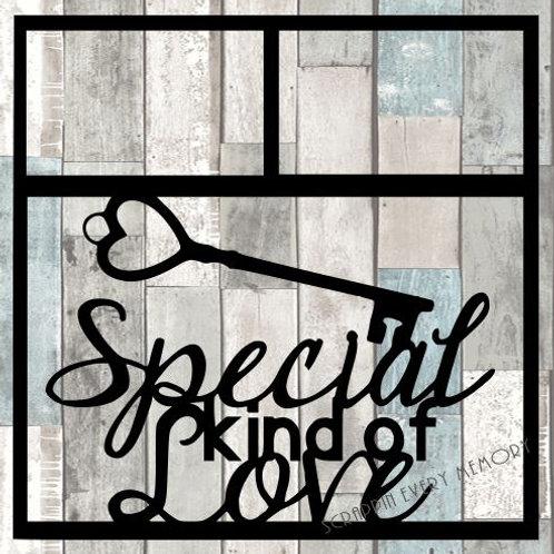 Special Kind Of Love Scrapbook Overlay