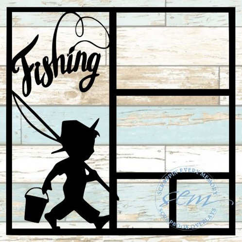 Fishing Scrapbook Overlay