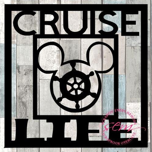 Cruise Life Scrapbook Overlay