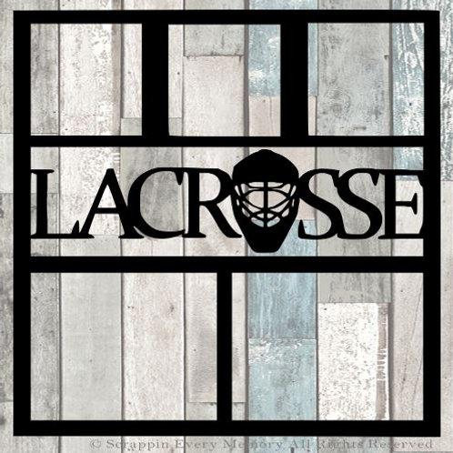 Lacrosse Scrapbook Overlay
