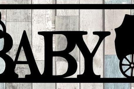 Baby Scrapbook Title