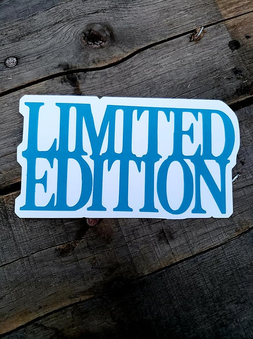 Limited Edition Paper Piecing Die Cut