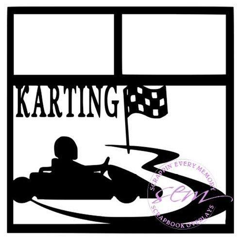 Karting Scrapbook Overlay