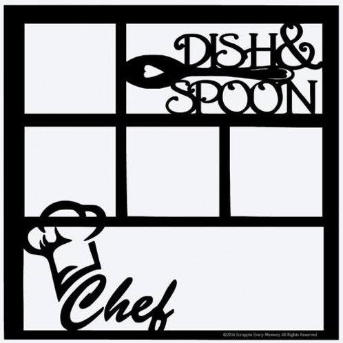Chef Scrapbook Overlay
