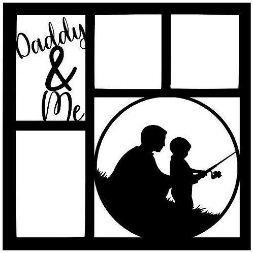 Daddy & Me Scrapbook Overlay