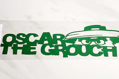 Oscar the Grouch Scrapbook Deluxe Die Cut