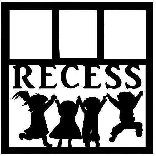 Recess Scrapbook Overlay