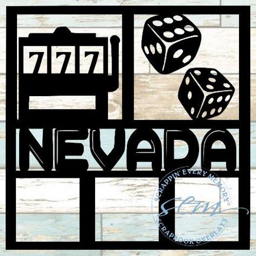 Nevada Scrapbook Overlay