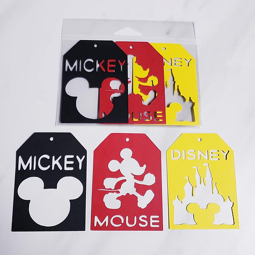 Disney Deluxe Word Tags