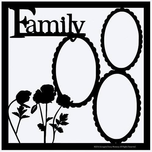 Family Scrapbook Overlay