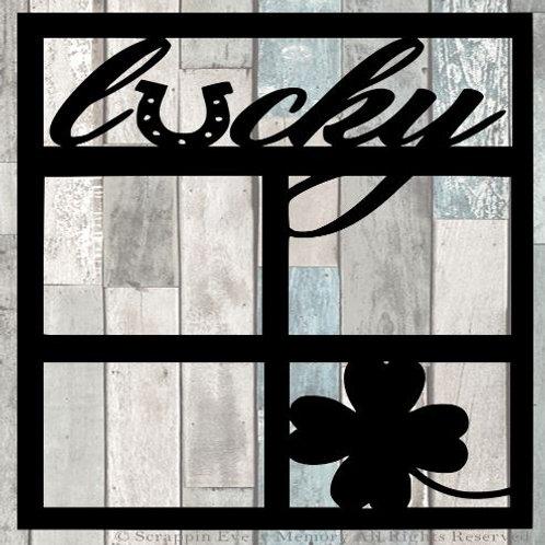 Lucky Scrapbook Overlay