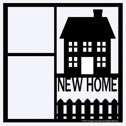 New Home Scrapbook Overlay