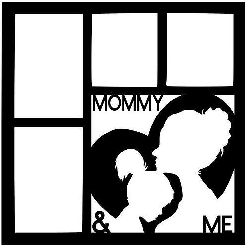 Mommy & Me Scrapbook Overlay