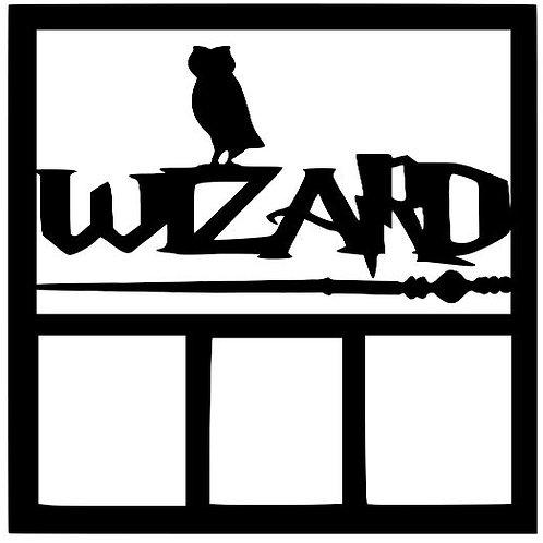 Wizard Harry Potter Scrapbook Overlay