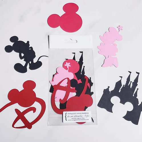 Disney Day Die Cut Silhouette Mini Set