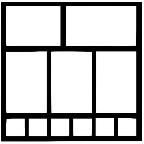 Frame 508 Scrapbook Overlay