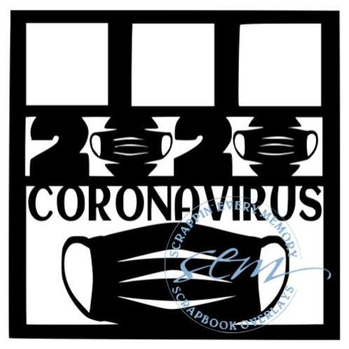 2020 Coronavirus Scrapbook Overlay