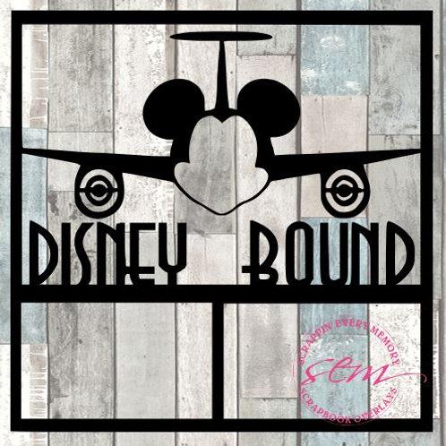 Disney Bound Scrapbook Overlay