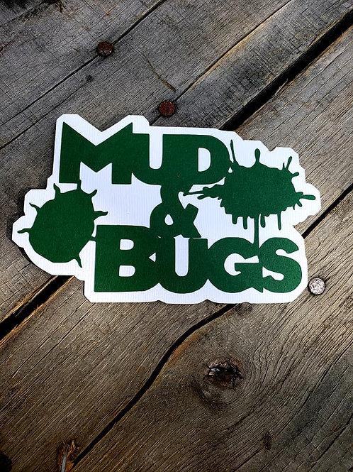 Mud & Bugs Paper Piecing Die Cut
