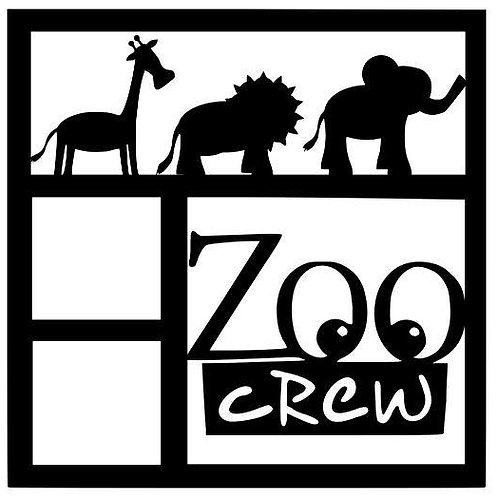 Zoo Crew Scrapbook Overlay