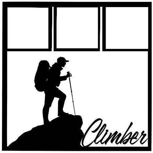 Climber Scrapbook Overlay